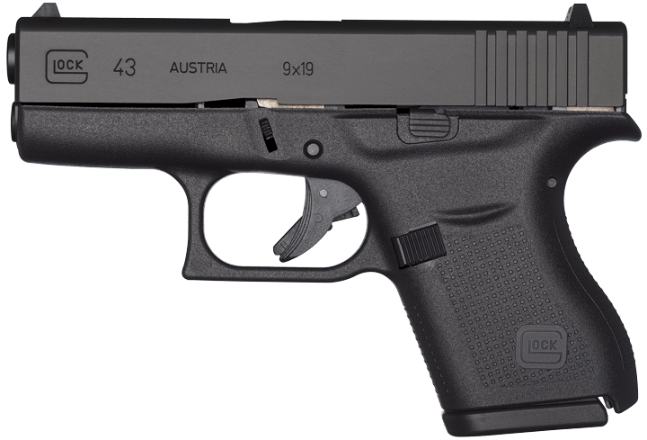Single Stack 9mm Handguns G43 Single Stack 9mm Pistol